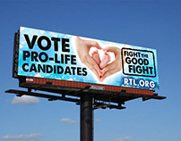 Right To Life Billboard