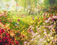 Ella's Fairy Mural