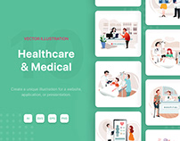 Healthcare & Medical Illustrations