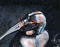 Anteater cyborg