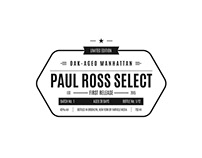 Paul Ross Select / Oak Aged Manhattan / Brand