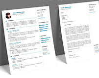 Gaston 2 - FREE Resume template + Cover Letter