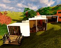 Diseño oficinas para Residencial Tuscania, El Salvador.