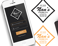 Nan's Cookie Co. (Branding & Identity)