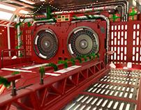 Christmas Sci-Fi Environment