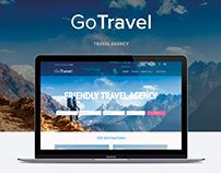Go Travel web design