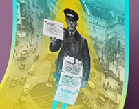 Poster digital design - Postman in Berlin /// Berlin