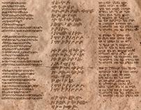 Calligraphy & Conlanging (creating languages)