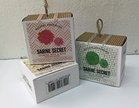 Sabine Secret Re-design Packaging