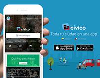 CÍVICO, Toda tu ciudad en una app