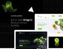 Oomato Market - Organic Store PSD Template