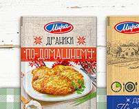 Упаковка картофельных смесей быстрого приготовления