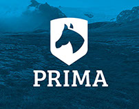 Prima - horse riding school logo