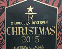 Starbucks Christmas Chalkboard Signs