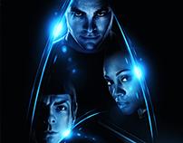 """Star Trek: Galactic / Fan art poster"""
