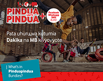 Vodacom Pinduapindua Campaign