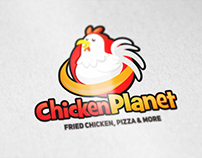 Chicken Planet Logo - United States