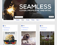 Seamless Facebook Cover + Profile / Intro Pic Creator