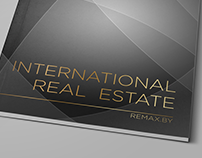 "Brochure "" International Real Estate"" for RE/MAX"