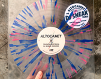 "ALTOCAMET / Tension Electrica 12"" Vinyl"
