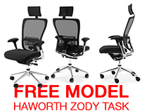 Haworth Zody Task free model