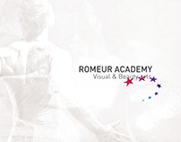 Romeur Academy reload - visual identity concept & mood