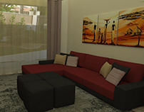 Gabinete Projeto | Sala de Estar