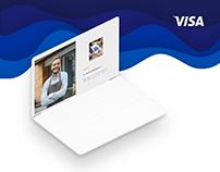Visa #Businesschampions key visual