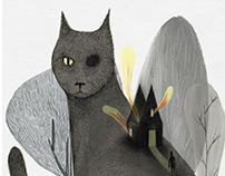 """""""Il gatto nero"""" E.A.Poe │ Concorso """"Matite da Paura"""""""