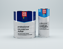 3D Product Modeling: SOBSAN Paint Can