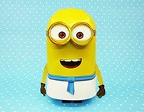 Minions_Paper toy_2