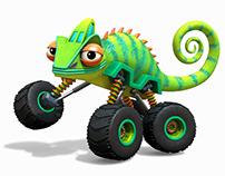 Lazard the Chameleon truck