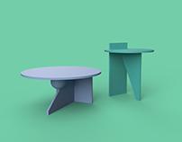Shape - Side Tables