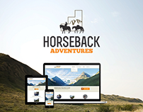 Horseback Adventures: Logo & Website Redesign
