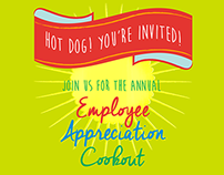 Employee Appreciation Cookout Poster