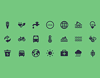 21 Sustainable Resources Icons