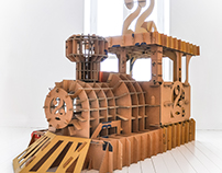 2 Years Élie's locomotive