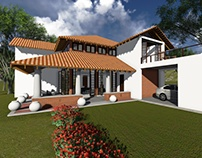 Proposed house at Ja-ela, Sri lanka