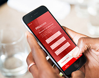 PRUDENTIAL website & application prototype design
