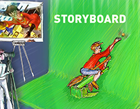 Storyboard(Multi-genre/TVC/Corporate film/Interstitial)