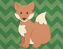 Woodland Critters Children's Wall Art
