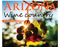 Arizona Wine Country, Page layout design