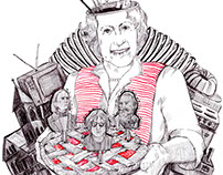 Online Magazine Illustrations / Rosemary Brown Article