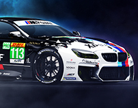 BlackDef BMW M6 GT3 Livery & Artwork