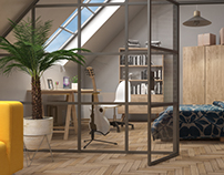 small loft visualisation