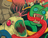 Editorial Illustration - Money, Tech & Rebellion