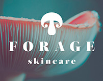 Forage Skincare Rebrand