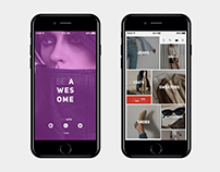 Clothes Shop App UI/UX Design