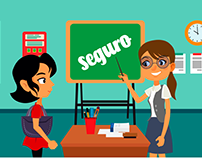 Seguro Escolar - Motion Graphic