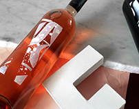 Calligraphic wines by TES Studio